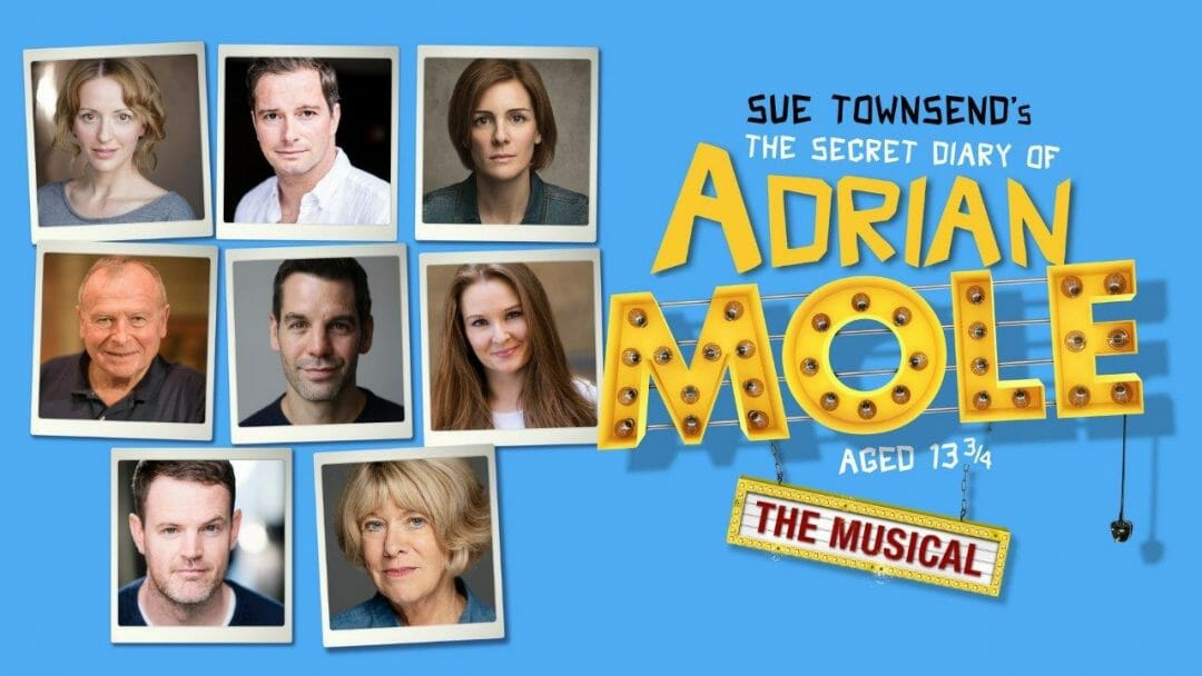 The cast of The Secret Diary of Adrian Mole