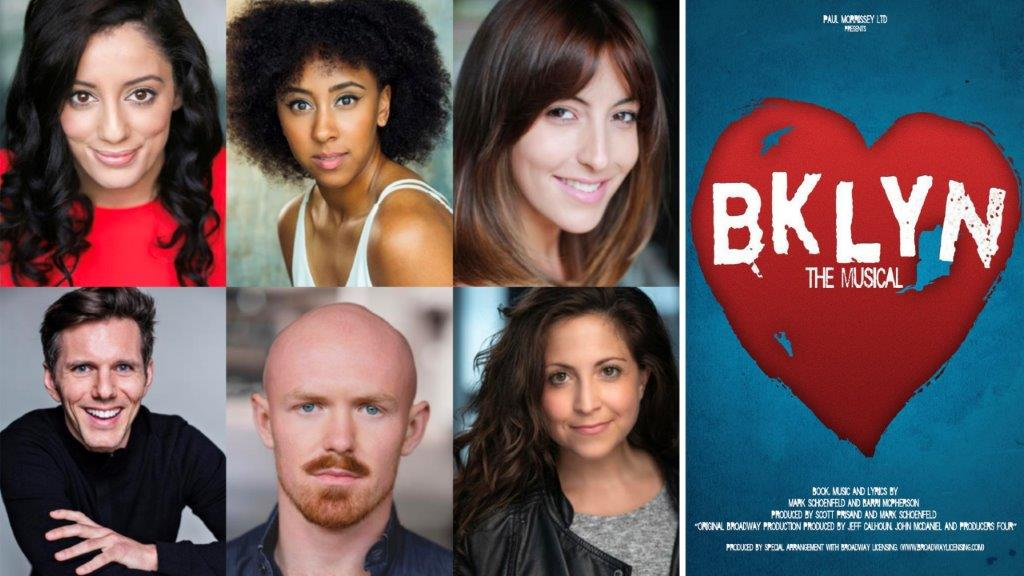 Cast of Brooklyn The Musical