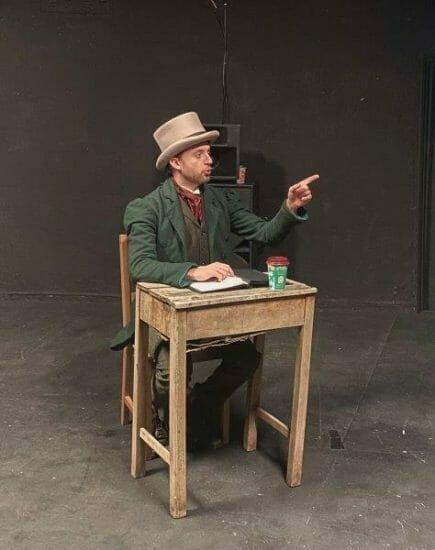 Ryan Hutton Rehearsing December